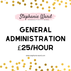 Stephanie Ward - Virtual Assistant General Administration