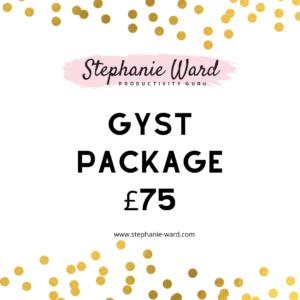 Stephanie Ward - Productivity Guru GYST Package